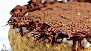 Рецепты тортов дома.Торт Кутузов с фундуком
