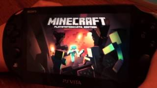 minecraft ps vita multiplayer 2 player ad hoc mode without wifi