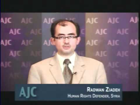 Radwan Ziadeh address to American Jewish Committee