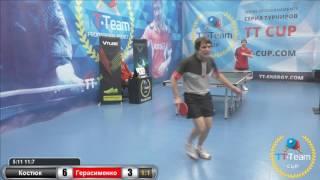 Игра за 1 место Костюк - Герасименко 20 января 2017 TT Cup
