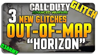 COD Advanced Warfare Glitches: OUT-OF-MAP Horizon + 3 GLITCHES