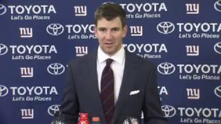 Eli Manning Post Game Press Conference | Giants vs Packers Playoffs