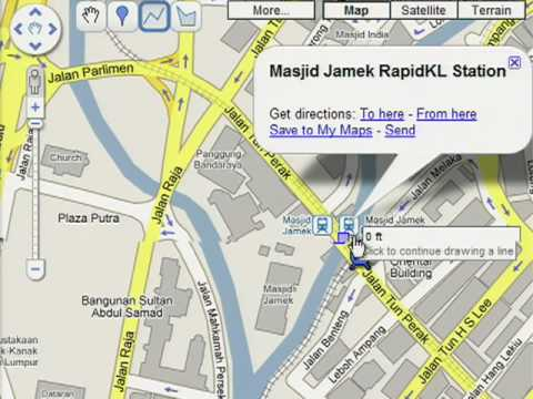 Google Maps Malaysia - My Maps Overview - YouTube