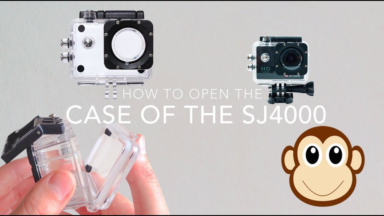 Instructions on how to set up a sjcam sj 4000 - How To Open The Waterproof Housing Of Sjcam Sj4000 Tutorial Deutsch Gesprochen English Subtitles