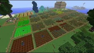 I START FARMING AΝD MADE FARM FOR ANIMALS FOR BREADING | MINECRAFT GAMEPLAY #3