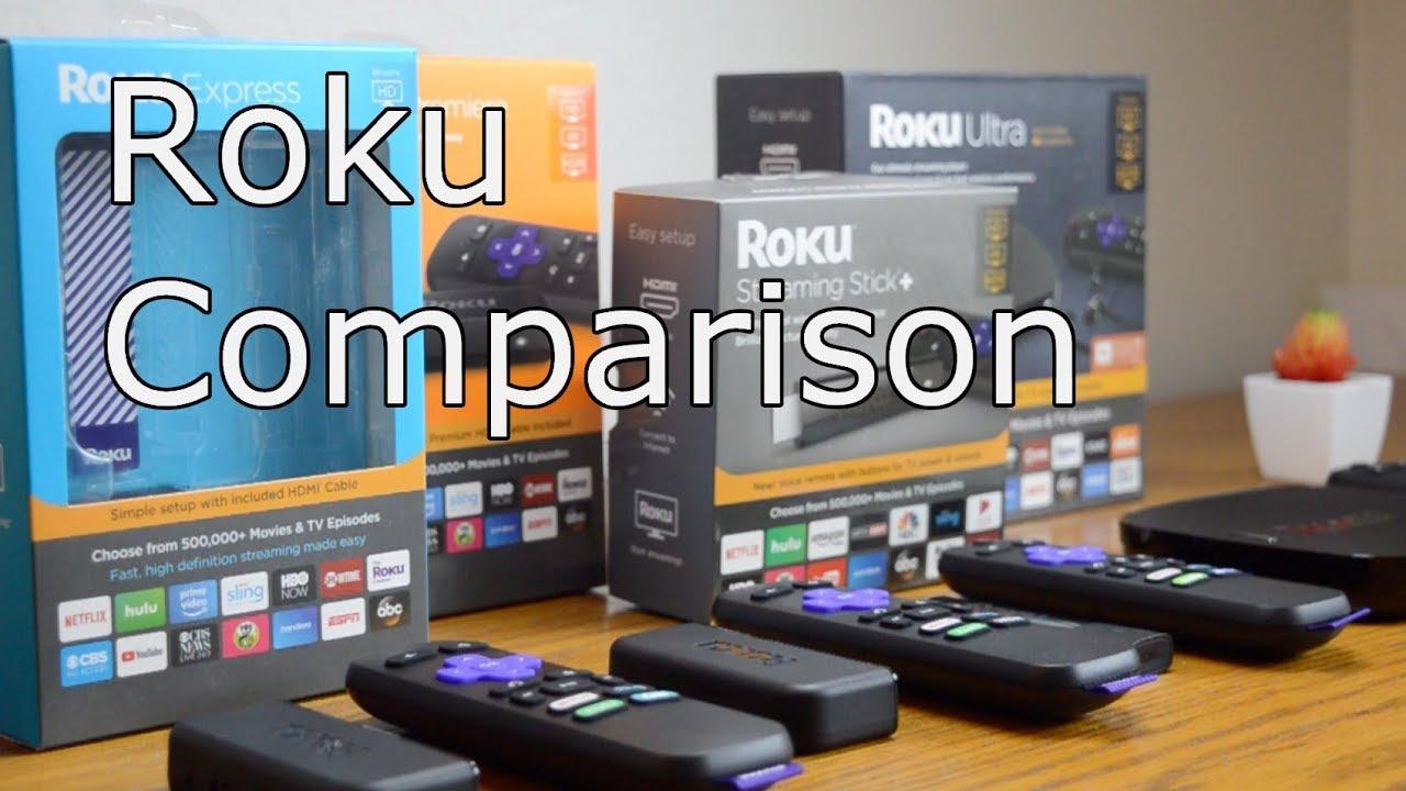 Roku Comparison: Express vs  Premiere vs  Streaming Stick vs  Ultra