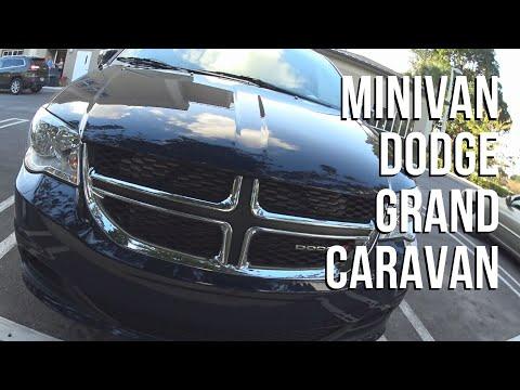 Conhecendo a Minivan Dodge Grand Caravan