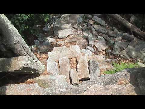 Grand Staircase At Serpent Megalith In Schuylkill County, PA