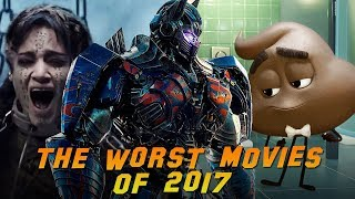 Top 10 WORST Movies of 2017, The Mummy, The Emoji Movie, xXx: The Return of Xander Cage