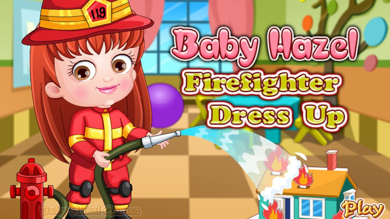 Baby Hazel Firefighter Dress up Games for Girls  Baby Hazel Make ...
