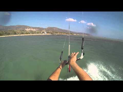 Elafonissi beach kitesurf