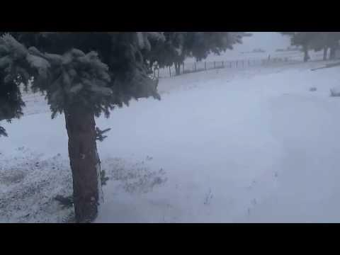 Stati Uniti, eccezionale nevicata d'autunno in Colorado