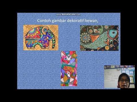 Materi Sbdp Gambar Dekoratif Kelas 3 Sd Youtube
