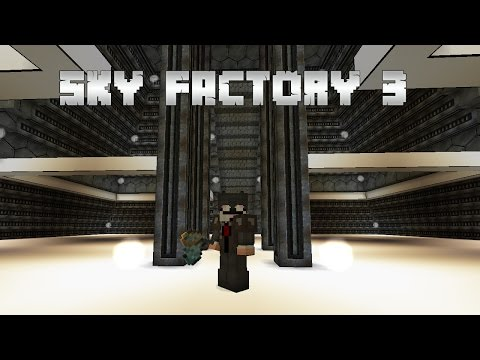 Sky Factory 3 EP 26 Refinied Storage Automation Solderers + Furnaces