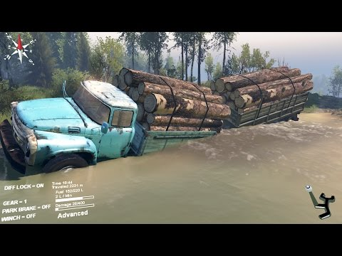 SpinTires - Russian Power ZIL 130