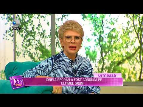 Teo Show (19.04.2018) - Ionela Prodan a fost condusa pe ultimul drum...  Partea 1