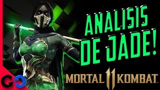 Mortal Kombat 11 Analisis de Jade Gameplay e Historia!