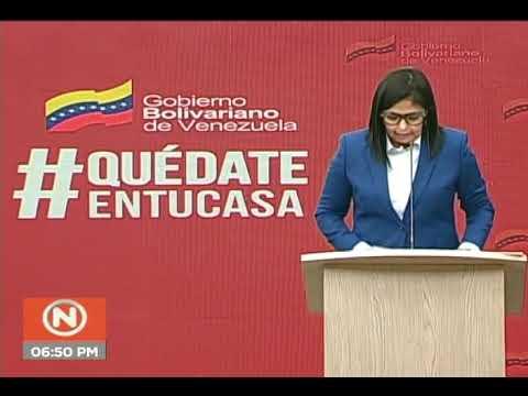 Reporte Coronavirus Venezuela, 25/04/2020: Delcy Rodríguez informa de 5 nuevos casos