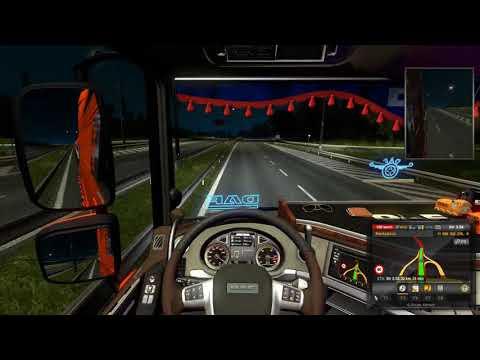 Euro Truck Simulator 2 #8 + DAF tuning pack
