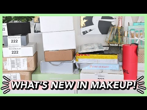 NEW MAKEUP RELEASES | BEAUTY NEWS PR UNBOXING