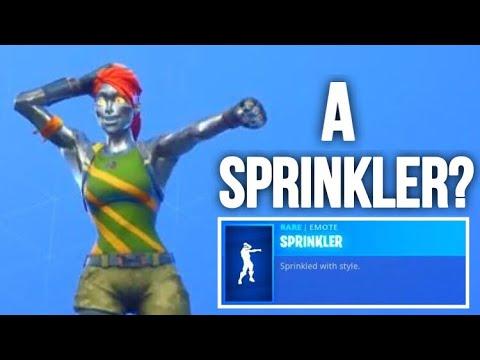 Really Epic?? A Sprinkler? Fortnite ITEM SHOP [October 14] | Kodak wK