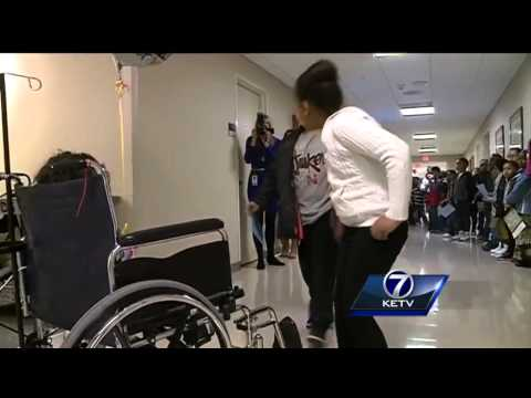 Kellom Elementary School students take field trip to Nebraska Medicine