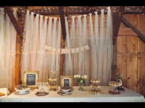 Great Wedding Backdrop Decorating Ideas Youtube
