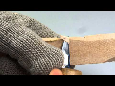 Mister Splinters shows the four basic wood carving knife cuts in HD