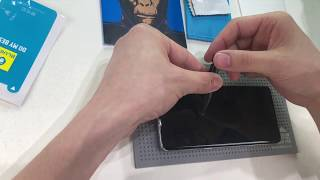 How to install UV tempered glass screen protector for Samsung S10.Ultrasonic unlock work well