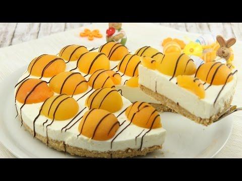 Aprikosen-Cheesecake ohne Backen