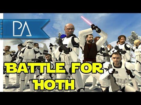 STAR WARS Shenanigans: Battle For Hoth - Bear Force 2 Mod Gameplay