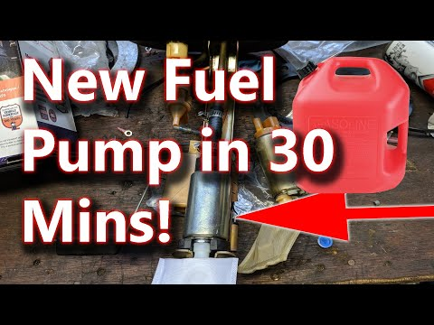 Subaru Forester Fuel Pump Replacement DIY