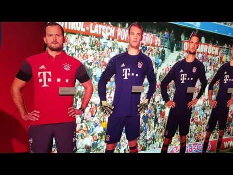 3 D Spieler Allianz Arena Bayern München Museum