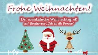 Frohe weihnachten! der musikalische weihnachtsgruß