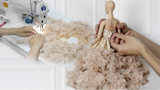 The making of DeMuse Doll Stella