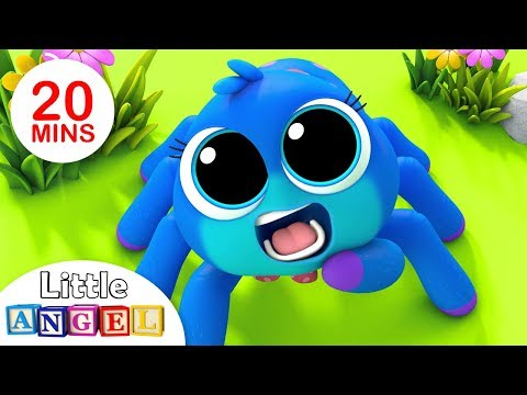 Itsy Bitsy Spider, Finger Family Peekaboo, Baby Panda Healthy Habits, Nursery Rhymes by Little Angel