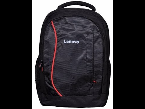 LENOVO LAPTOP BACKPACK UNBOXING#SHOPPED ONLINE