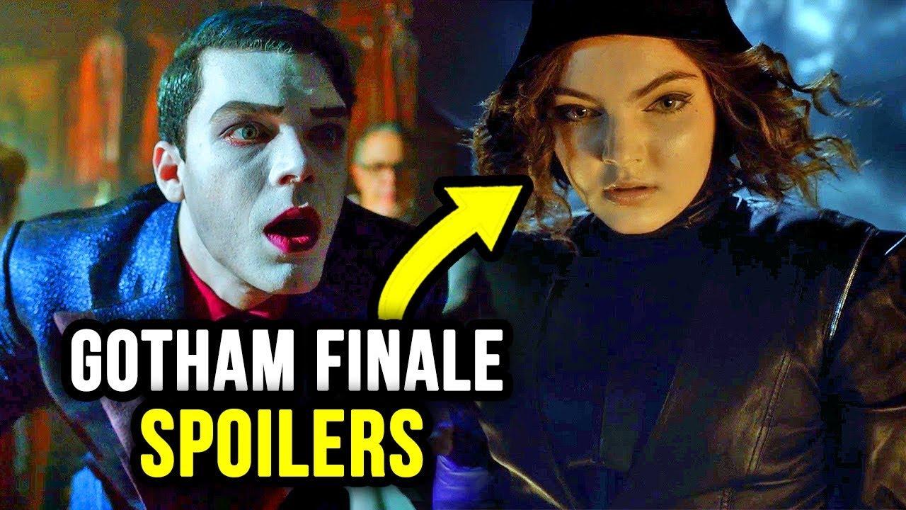 Huge Catwoman Gotham Season 5 Finale Spoilers