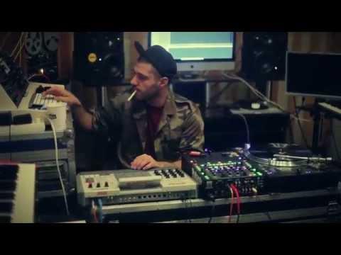 Turkman Souljah Making A beat in The Lab 17