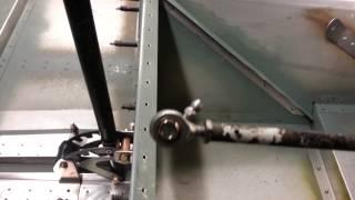 Zenith 701 homemade flap actuator
