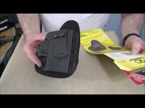 Crossfire IWB Kydex EDC Holster: One Size Fits All!