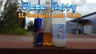 Vieze Harry   Redbull & Milk 3 0 1L  BROMOTION