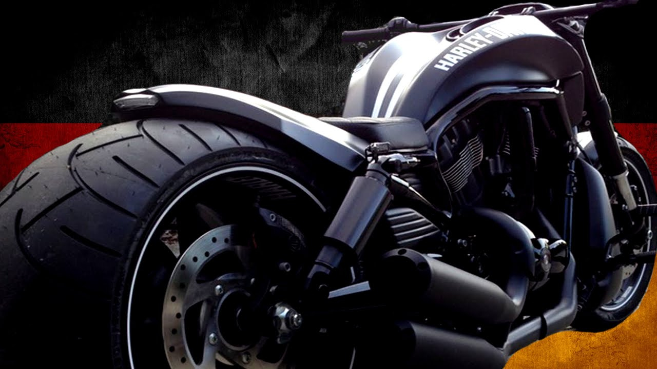 "⭐️ Harley Davidson Night Rod ""Black & White Customs"" by 69 ..."