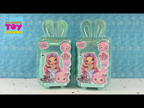 Na Na Na Surprise Sparkle Series 1 Doll Balloon Unboxing Review | PSToyReviews