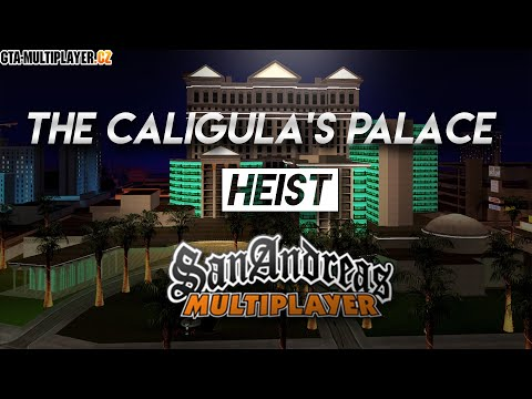 Robbing Caligula's Palace with Squad in Grand Theft Auto San Andreas Multiplayer !