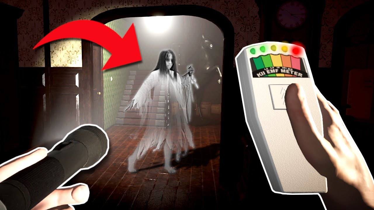 A GHOST KID IS AFTER ME...HELP! - Ghost Hunters Corp Gameplay