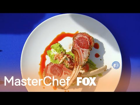 The Judges Are Not Happy With The Blue Team's Raw Lamb   Season 9 Ep. 16   MASTERCHEF