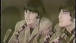 The Beatles inerview before Shea Stadium