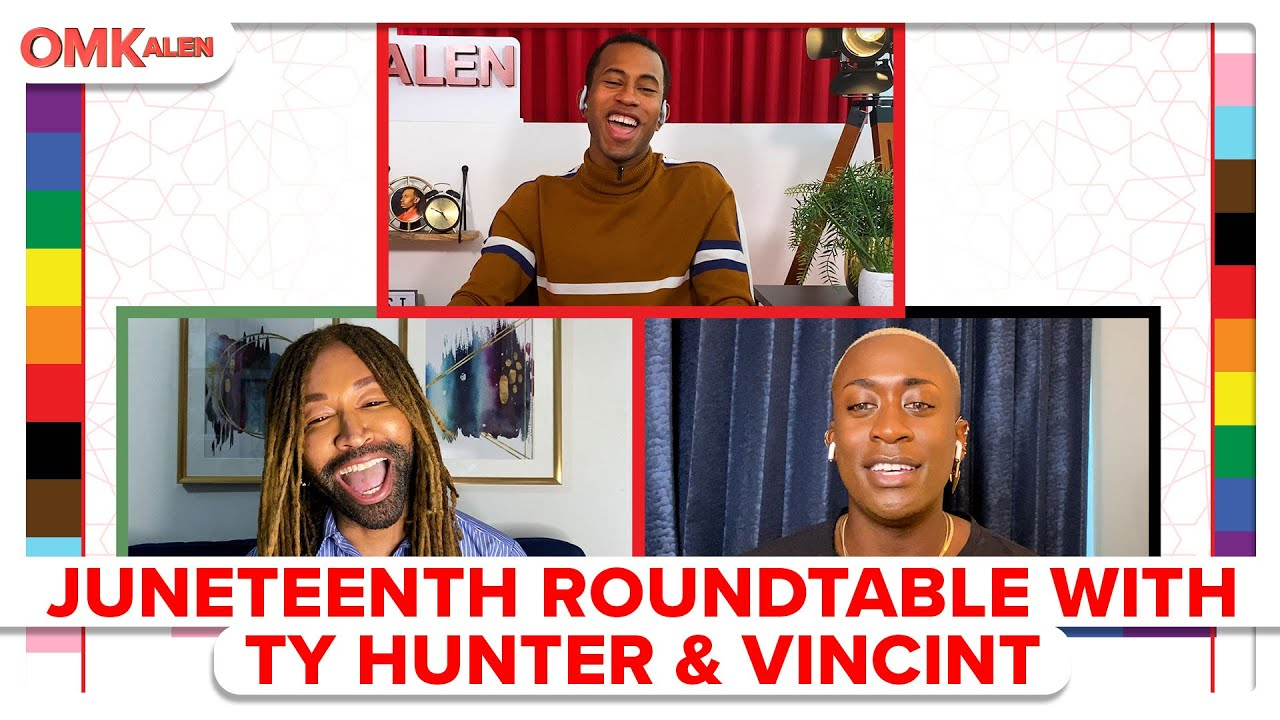 Kalen's 2nd Annual Juneteenth Roundtable with Ty Hunter & VINCINT