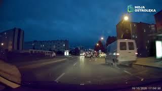 Wybiegł wprost pod nadjeżdżający samochód